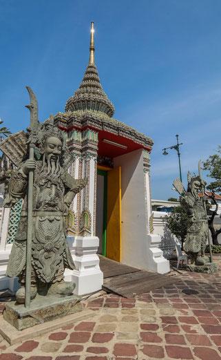 Torwächter beim Wat Pho