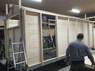 Zirkuswagen bauen lassen vom Zirkuswagenbau Pletz