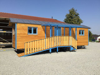 Tiny House Gardenplace als mobiles Singlehaus