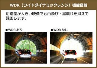 WDR ワイドダイナミックレンジ