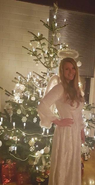 Weihnachtsengel als Walkingact zu mieten