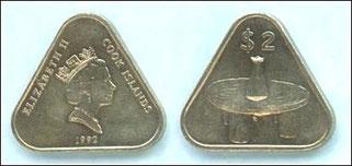 クック諸島のコイン