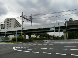 八戸ノ里,若江岩田,中央環状,新交差点,西岩田2丁目