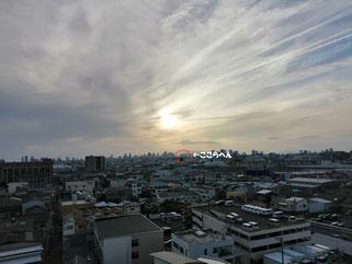大阪城,あべのハルカス,大発ビル