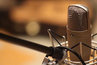 Mikrofon Podcast