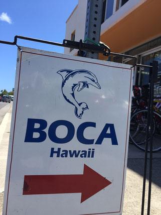 ハワイで自転車・バイク・bikeを預かり保管します。預かる場所。BOCA Hawaii.パートナーのBOCA