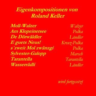 Eigenkompositionen von Roland Keller