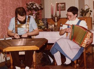 traditionelle Volksmusik für kleinere Anlässe