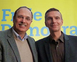 Thomas Hermann und Michael Stroot - im Rat und in den Ausschüssen für Recke aktiv