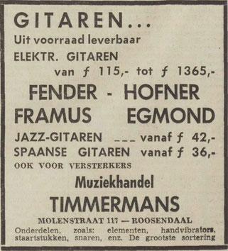 Dagblad de Stem, juli 1963