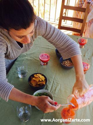 Organízate para disfrutar de un sano aperitivo con tus amigas - AorganiZarte