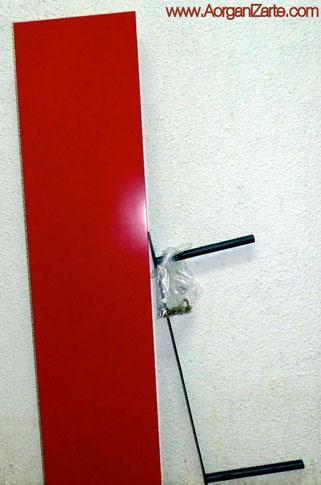 Guarda los elementos pequeños en bolsas junto al mueble - www.AorganiZarte.com