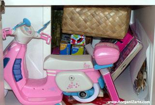 Los juguetes guardarlos en su sitio - AorganiZarte
