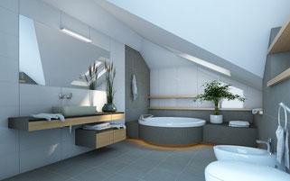 Lassen Sie Ihr Bad durch eine top Badsanierung / Badrenovierung in Hannover verschönern