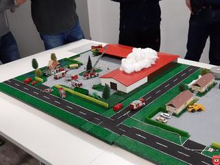 """Planspiel """"Brand landwirtschaftliches Gebäude"""""""