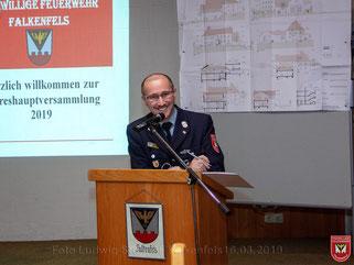 Tätigkeitsbericht 1. Vorstand Richard Marchner