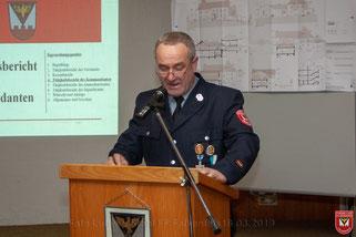 Tätigkeitsbericht 1. Kommandant Herbert Heindl