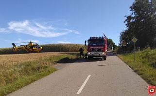 Einsatz 08/2018 - Verkehrsunfall mit PKW