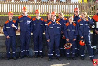 Die erfolgreichen Teilnehmer unserer Feuerwehr