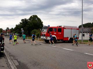 Absicherung an der Bayerwaldstraße