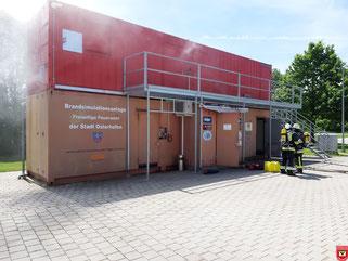 Brandsimulationsanlage FF Osterhofen
