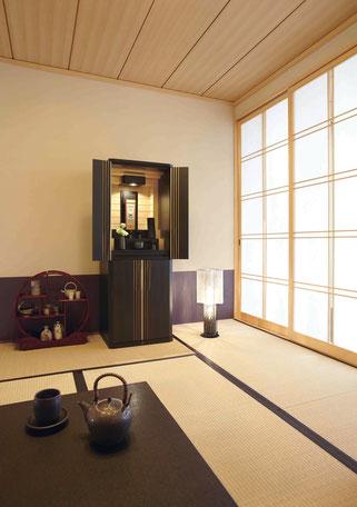 和室にも現代仏壇