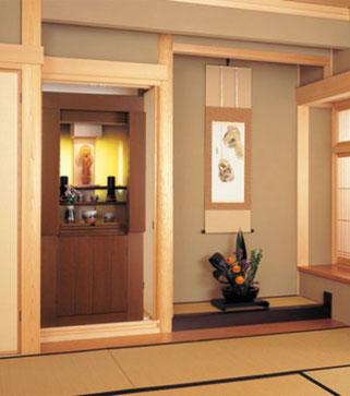 仏間にも現代仏壇