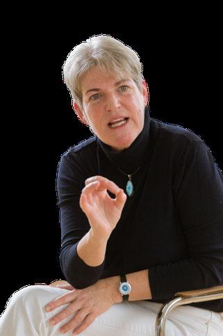 Maya de Vries unterrichtet die Trauma Buster Technique