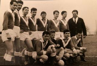 Erste Junioren Mannschaft vom FC Stein, damals in der Kategorie C - anno 1963