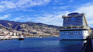 Madeira Funchal Kreuzfahrt Hafen und Landausflüge