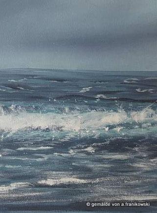 Ein Ausschnitt aus meinem Meerbild Nordsee