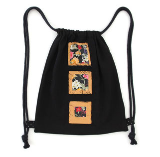 PROUGS Slow Fashion  Upcycling Hipsterbeutel Rucksack   beste Stofftasche Turnbeutel Stoffbag   Upcycling Offenburg