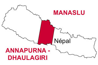 trek tour des annapurnas - trek Dhaulagiri - tour du manaslu