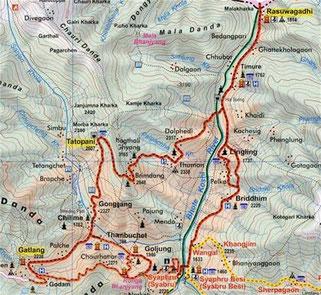 trek langtang - trekking nepal - Tamang Heritage - Gatlang