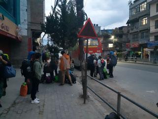 Touristes bloqués au Népal