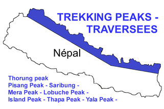 trekking peak nepal - ascension sommet nepal
