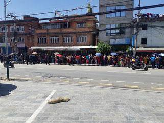 Kathmandu confinée