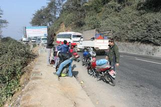 Circuit moto népal - périple moto népal