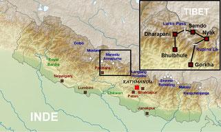trek tour du manaslu rupina la nepal