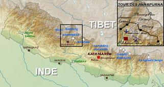 trek tour des annapurnas - trekking tilicho