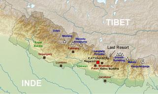 Plan Népal - Népal aventure