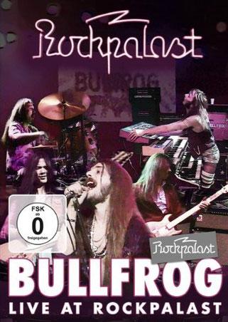DVD: Bullfrog: Rockpalast