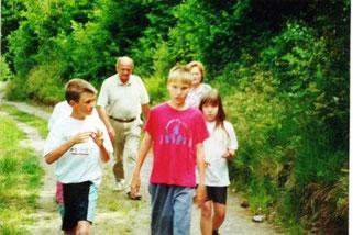 Wünschendorf Elster Wanderung 2000