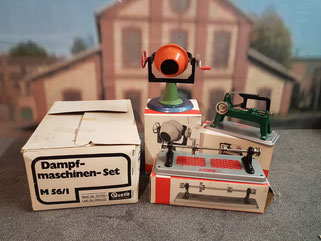 M56/1 Dampfmaschinen-Set Fa. Quelle 1976