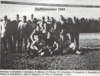 1965 1.Herren Staffelmeister