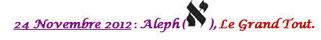 Aleph, le Grand Tout