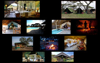 alloggi safari lodge camp