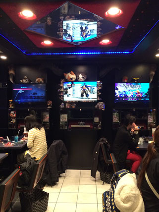 Capcom Bar in Shinjuku