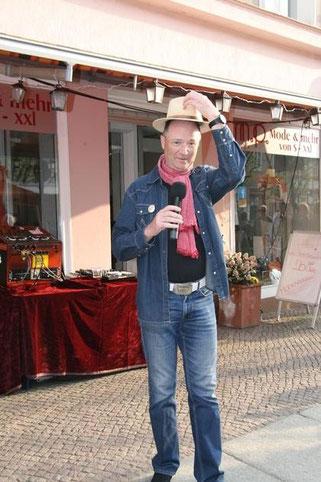 Angermünder Einkaufsnacht, Bernd Winkler Kerkow, mp by style Antje Müske, Angermünde Rosenstraße