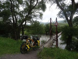 Baufällige Brücke